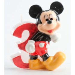 Bougie Mickey No 3 - SOLDES