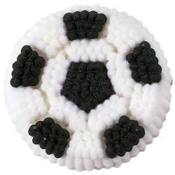 Décoration en sucre - Ballon de football - pk/9