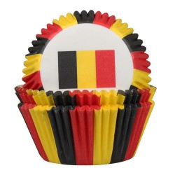 Caissettes Belgique - 50pcs