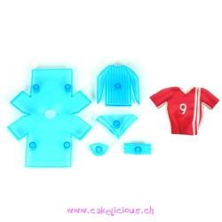 """Soccer Shirt + Trims"" Set/5"