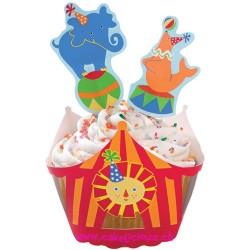 "Enveloppes à cupcake ""Warps'n Pix Big Top"" Kit - SOLDES"