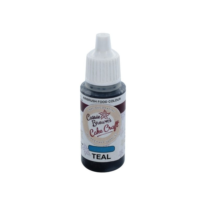 """Colorant Aérographe """"Teal"""" Turquoise - 17ml - Action"""