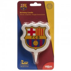 "Bougie ""FC Barcelone"" - 8cm"