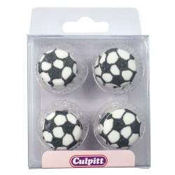 Décoration en sucre Football pk/12