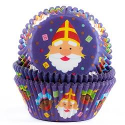 """Caissettes """"Saint Nicholas"""" - Pk/50 - SOLDES"""