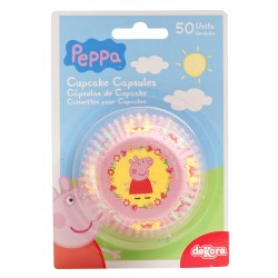 Caissettes cupcakes Peppa Pig - SOLDES