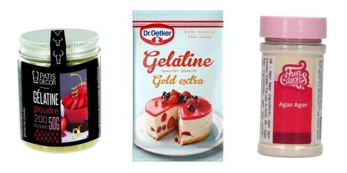 Gelatine-Agar-Agar-Pectine