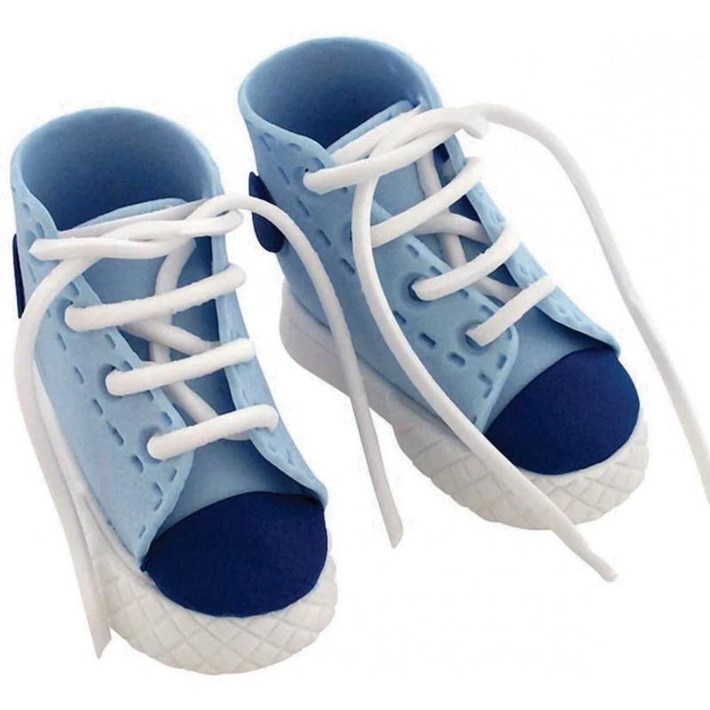 Chaussures de sport bleu