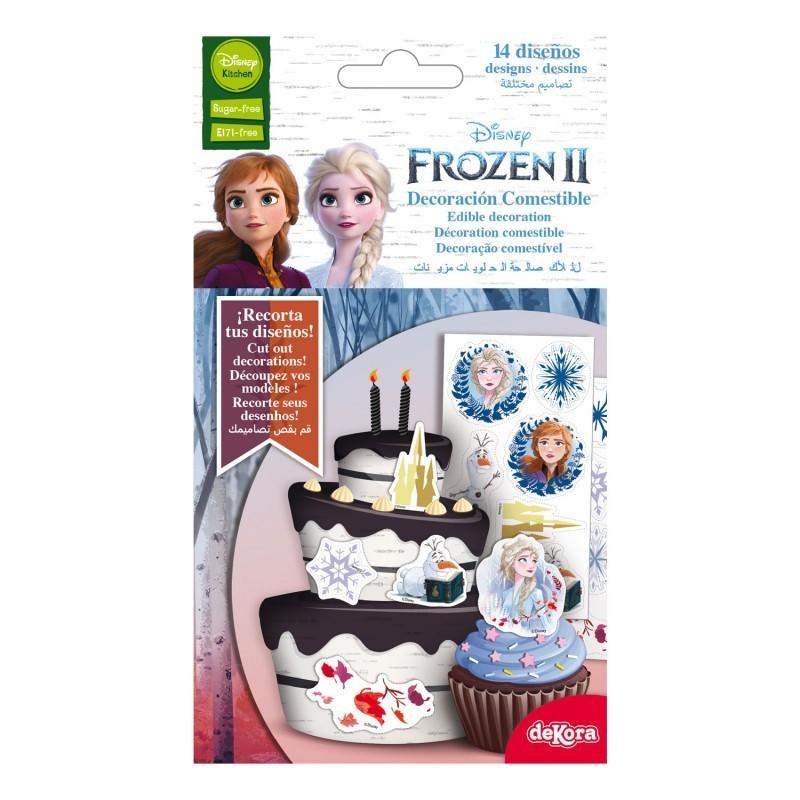 Edible decorations Frozen 2