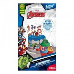 Décoration comestibles Avengers