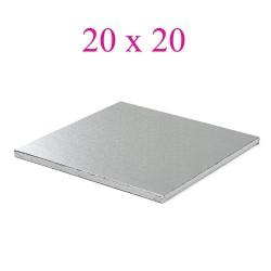 cake board silver square 20cm