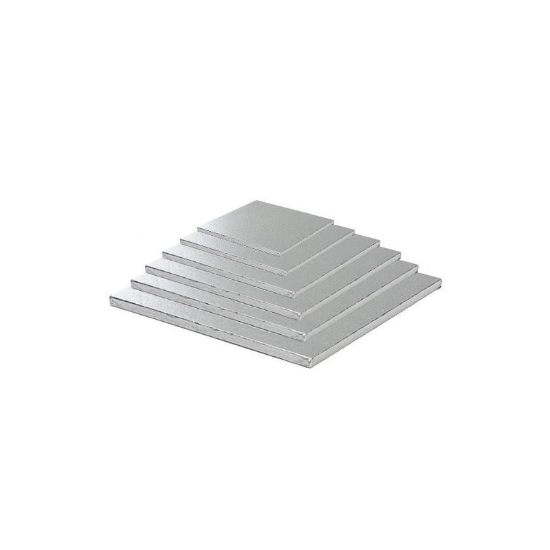 cake board silver square
