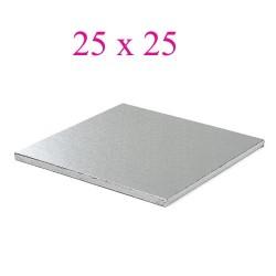 cake board silver square 25cm
