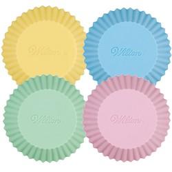 Caissettes en silicone pastel pk/12