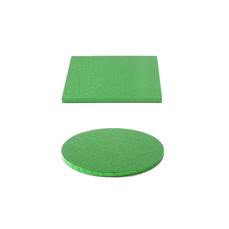 cake drum dark green round square