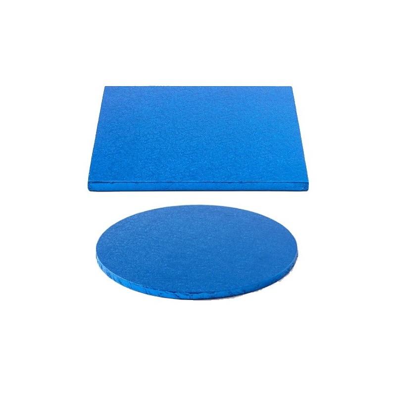 cake drum dark blue round square