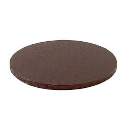 cake drum brown round 25 cm 30 cm
