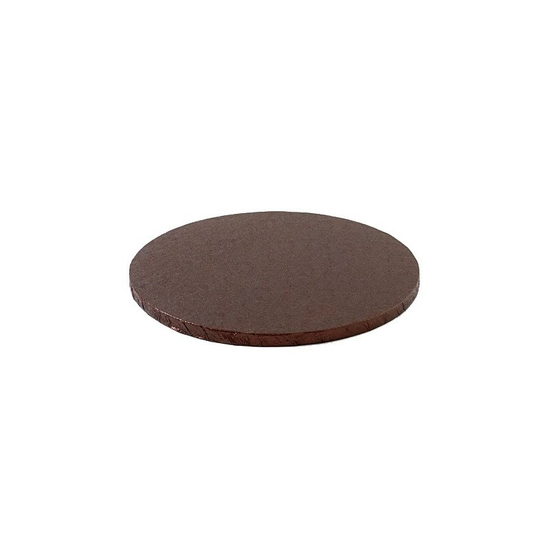 cake drum brown round 25 cm 30 cm