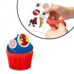 edible decoration spiderman