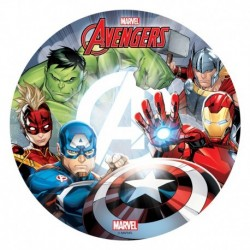 disque comestible Avengers