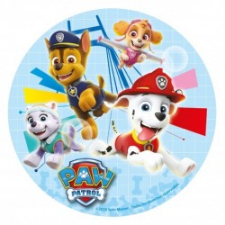 Wafer paper disc paw patrol