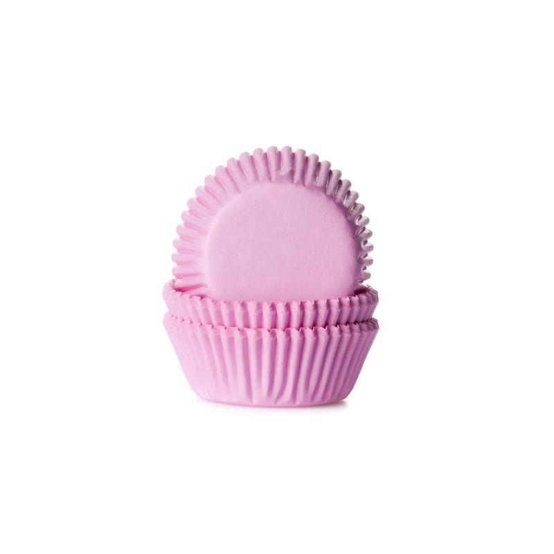 """Caissettes à mini cupcakes """"Light Pink"""" - pk/60"""