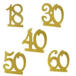 Kerzen Gold - Auswahl des Jahrzehntes