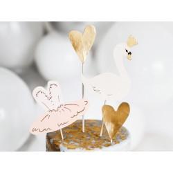 cake topper swan
