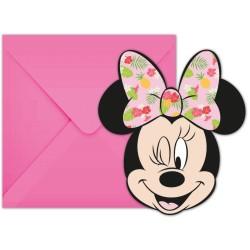 Einladungskarte Minnie