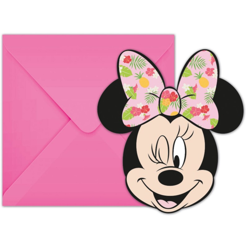 Invitation Cards Minnie