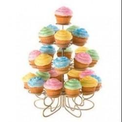 """Présentoir Mini """"Cupcakes'N More"""" 24 ct"""