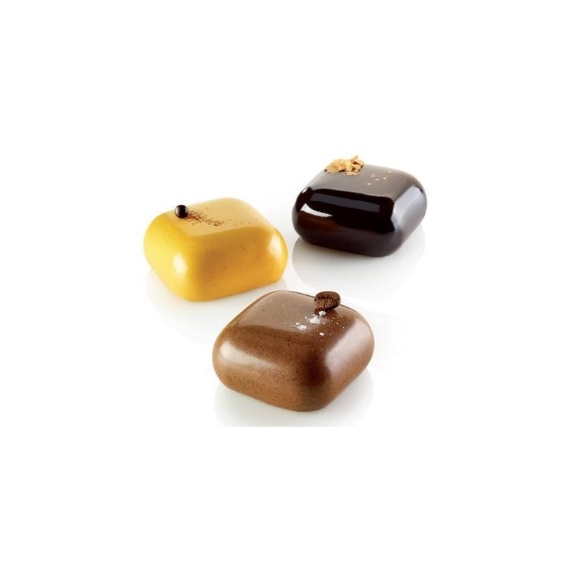 moule en silicone, petit moule silicone, mini moule silicone, insert carré, petit insert carré, mini insert carré, moule forme c