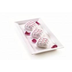 moule silicone, eleganza, mini, entremet, cake, petit, carré