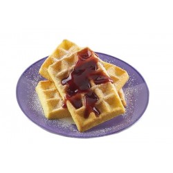 Silicone mold, waffel, breakfast