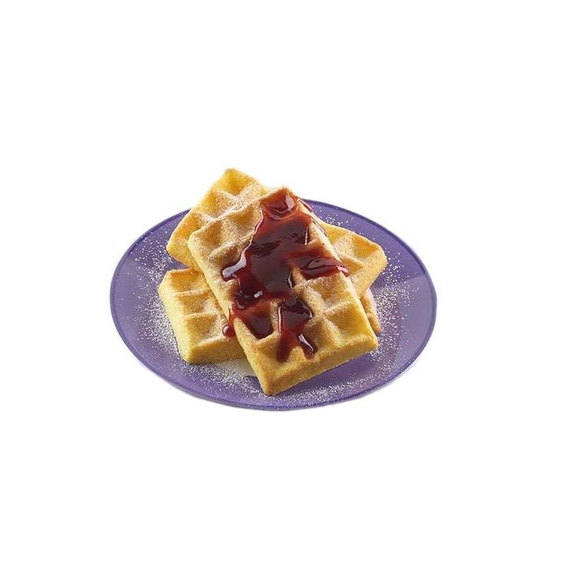 Silicone mold, waffel, breakfast