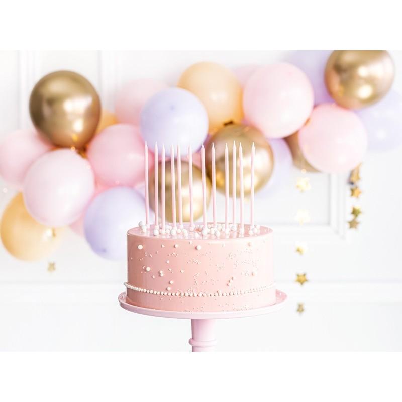 tall, candles, pink, light, princess, unicorn, rainbow