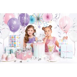 box, decoration, licorne, fête, anniversaire, fille