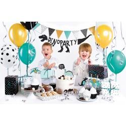 box, décoration, dinosaure, enfant, anniversaire.
