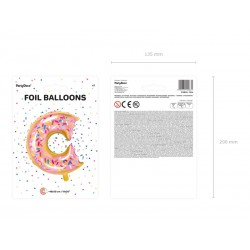 balloon, foil, donut, flamingo, decoration, birthday
