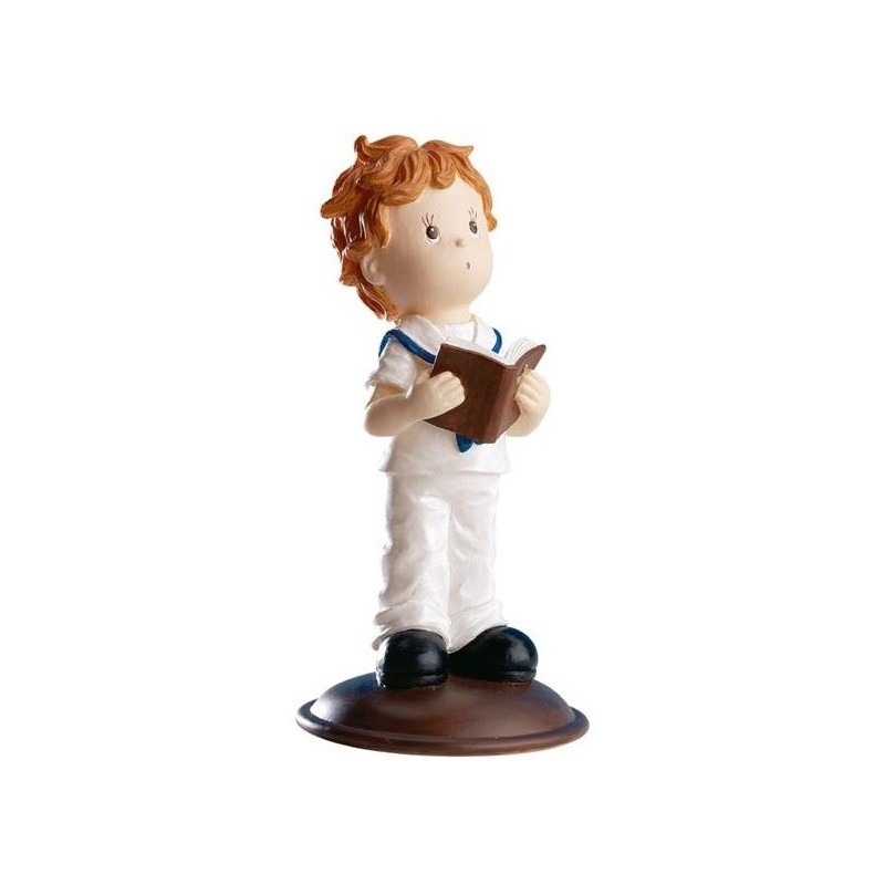 Figurine première communion garçon - 12 cm