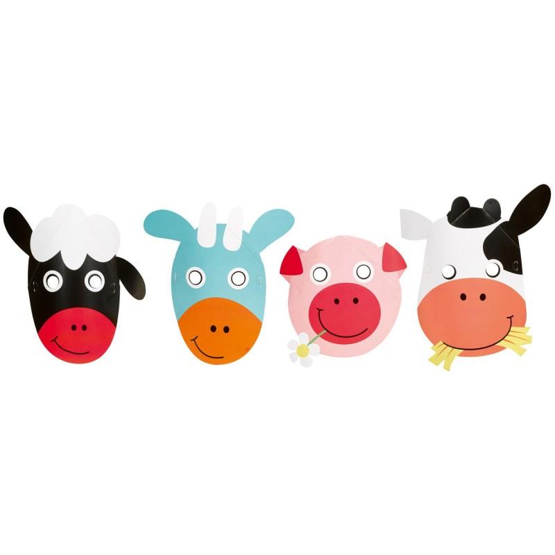 Masks Farm animals