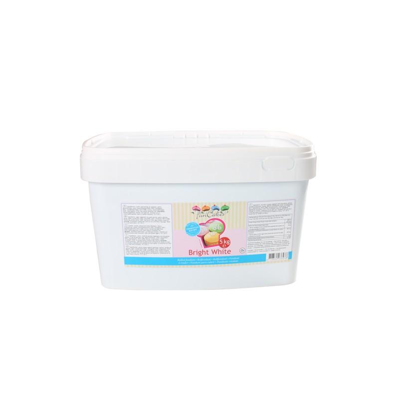 """Pâte à sucre - """"Bright White Vanilla"""" -5kg-"""