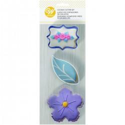 Emporte pièces floral