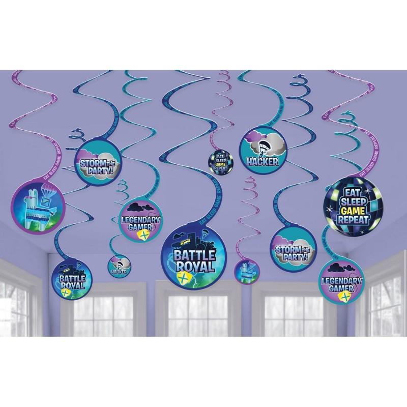 Swirl decorations Fortnite