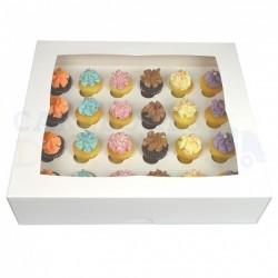Boîte à mini cupcakes 24 cavités avec insert