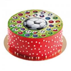 Edible disc Football