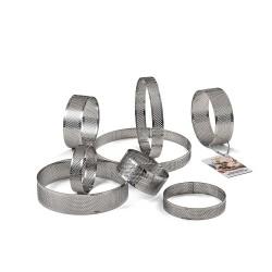 Low perforated tart ring