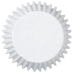 """Caissettes à mini cupcakes """"Blanche"""" - pk/100"""