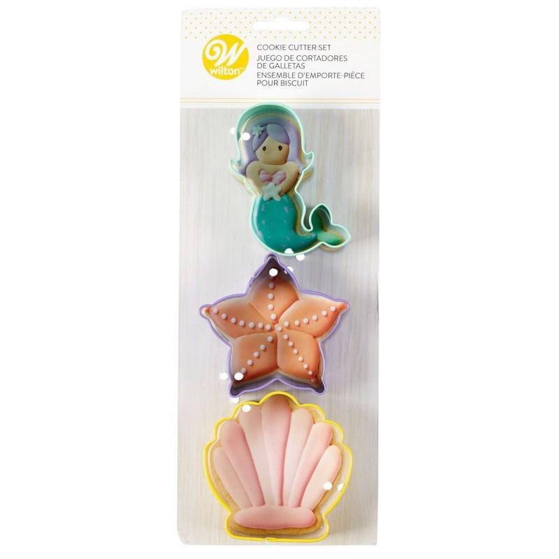 Cookie cutters Sea