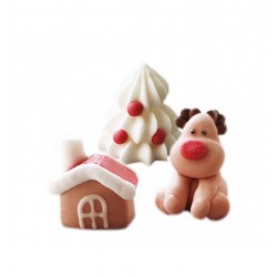 Sugar decoration Reindeer